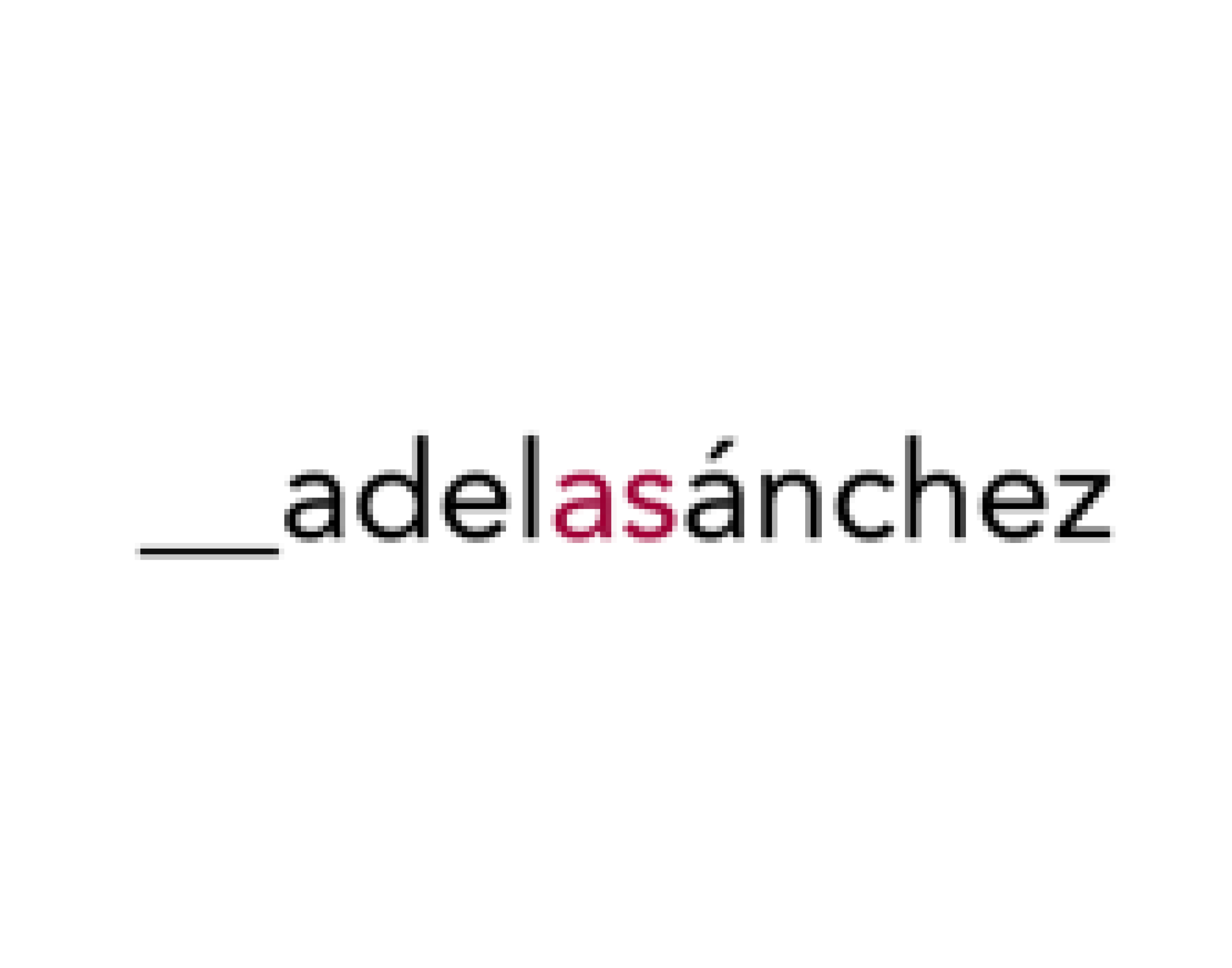 Logo Adela Sanchez